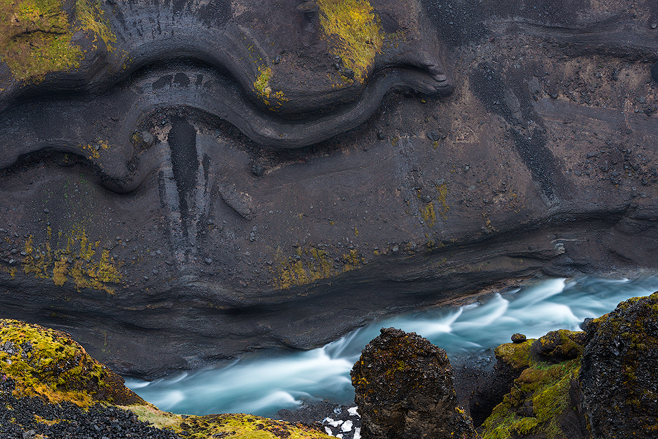 The River Serpent | Iceland Photographed in the highlands above Háifoss Waterfall.